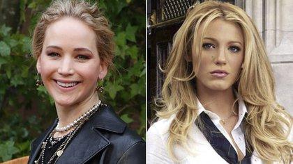 "Jennifer Lawrence audicionó para el papel de Serena en ""Gossip Girl"", que finalmente fue para Blake Lively"