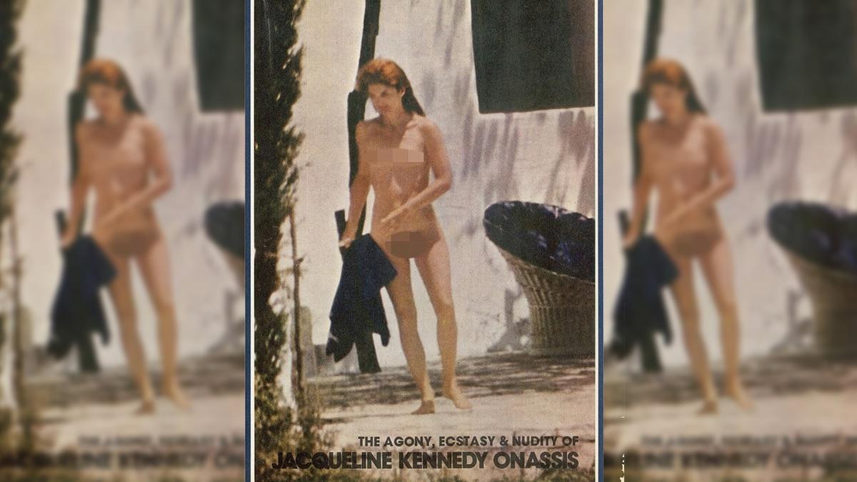 La Poderosa Conspiración Detrás Del Desnudo De Jackie Kennedy Infobae