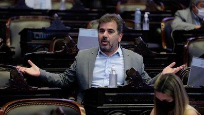 Cristian Ritondo (PRO), molesto con la estrategia del Frente de Todos