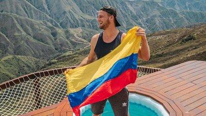 Ahora se encuentra en Medellín y afirma que le a gustado la ciudad.