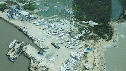 Un 60% de la isla quedó inundada tras el paso del huracán