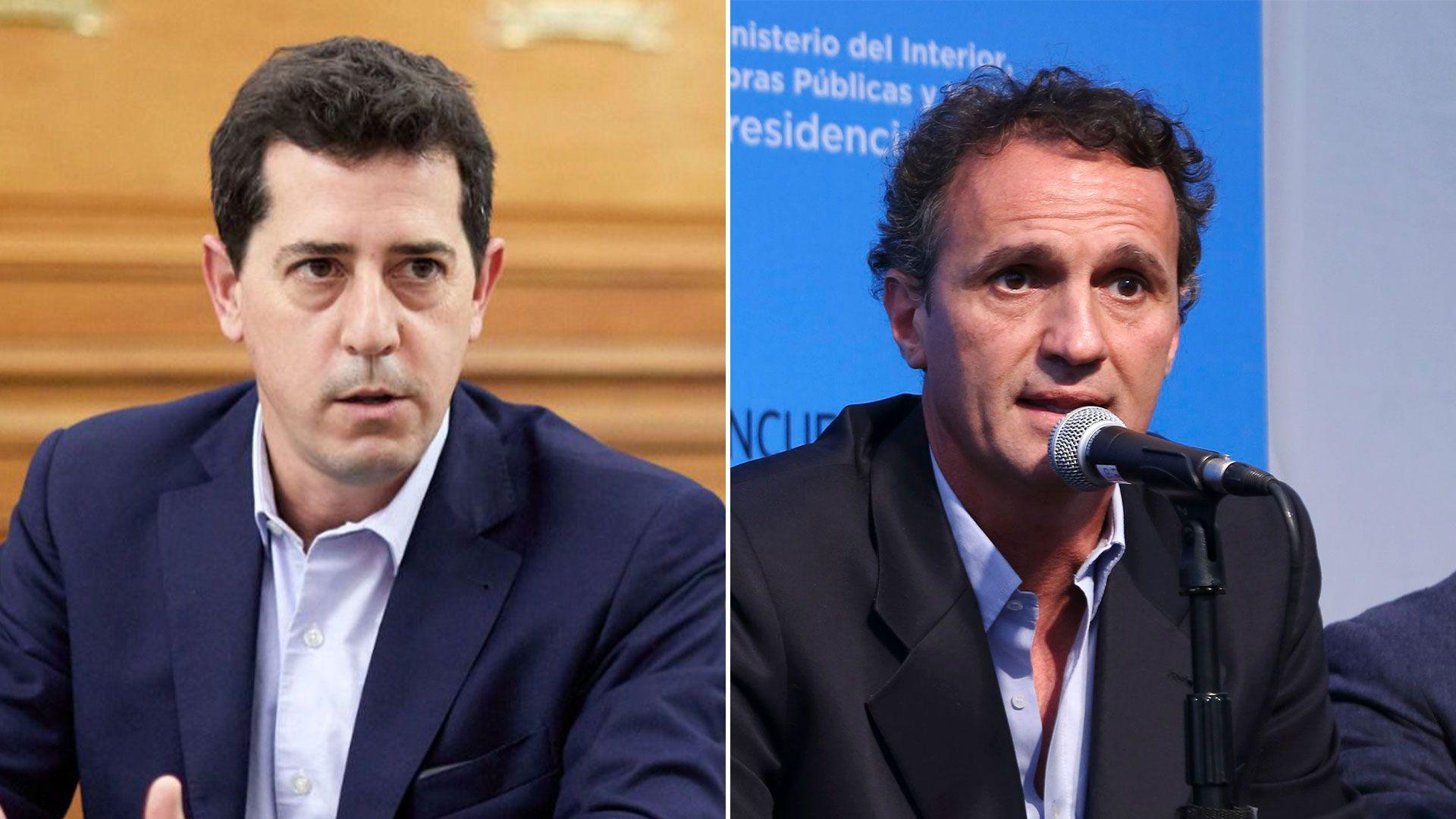 Gabinete Nacional - Wado de Pedro y Gabriel Katopodis