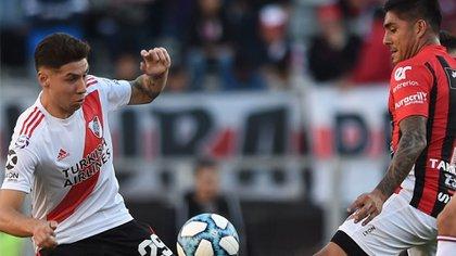 Gonzalo Montiel es una pieza clave para Marcelo Gallardo en River (NA)