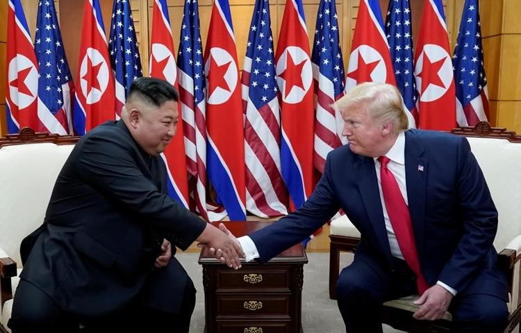 Trump ha asegurado que tiene una gran relación con Kim Jong-un, pero el vínculo entre Washington y Pyongyang no ha mostrado avances (Reuters)