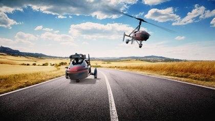 En ruta alcanza una velocidad de hasta 160 km/h, mientras que en el aire llegará hasta los 180 km/h