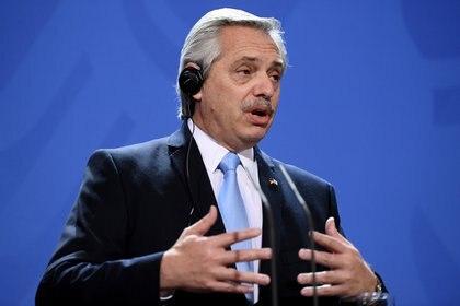 Alberto Fernández (REUTERS)