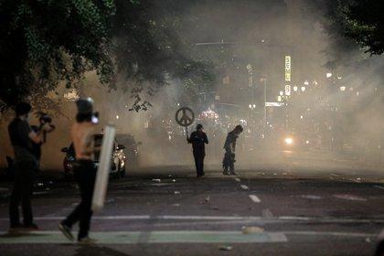 Protestas en Portland. REUTERS/Caitlin Ochs