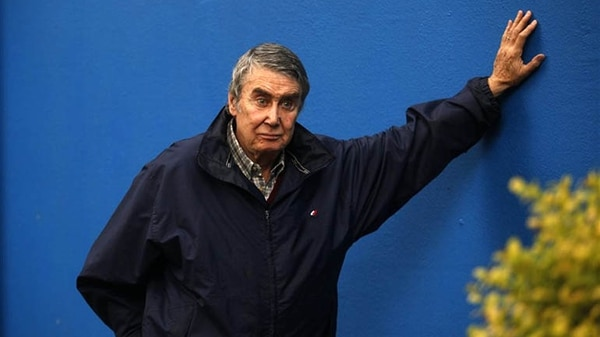 Rodolfo Bebán en uno de sus últimos roles teatrales