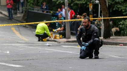El atentado en el centro de Bogotá dejó 26 heridos