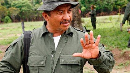 Gentil Duarte, líder del Bloque Oriental, el grupo disidente de FARC más grande y peligroso de Colombia.