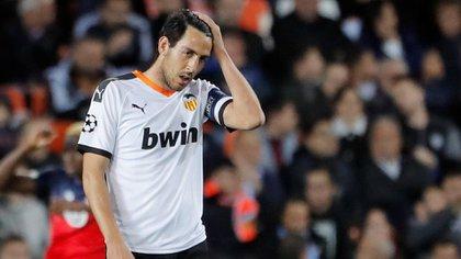Dani Parejo habló sobre sus sensaciones tras participar del partido de la Champions League que impulsó al coronavirus (REUTERS)