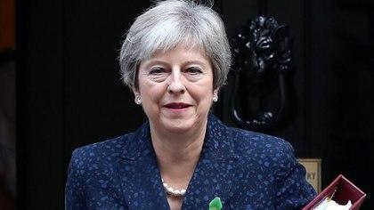 Theresa May (REUTERS/Simon Dawson)