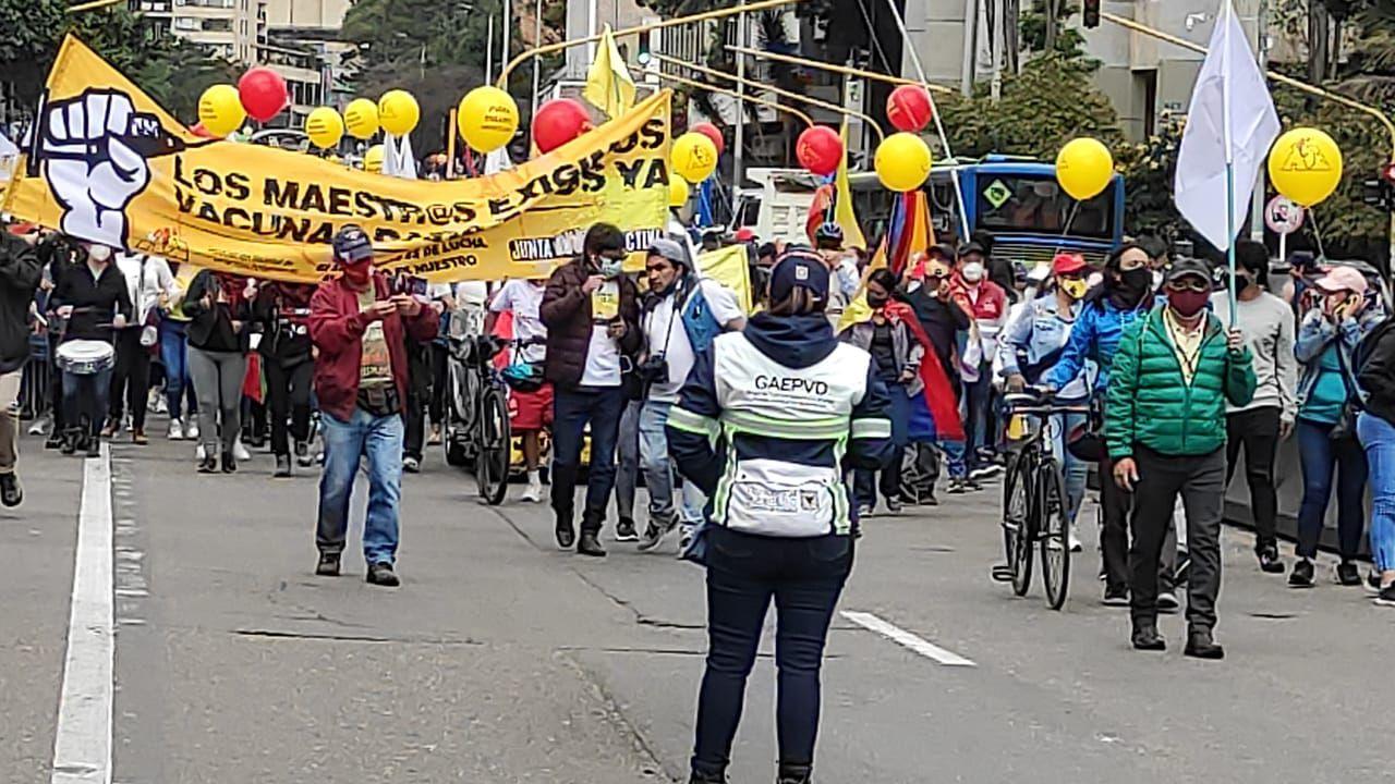Manifestaciones 28M Bogotá