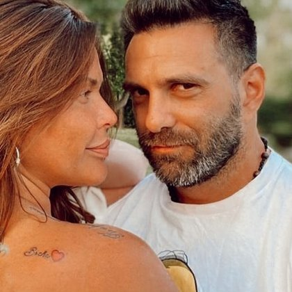 La foto en la cual Nazarena luce el tatuaje que le dedicó a su novio (Instagram)