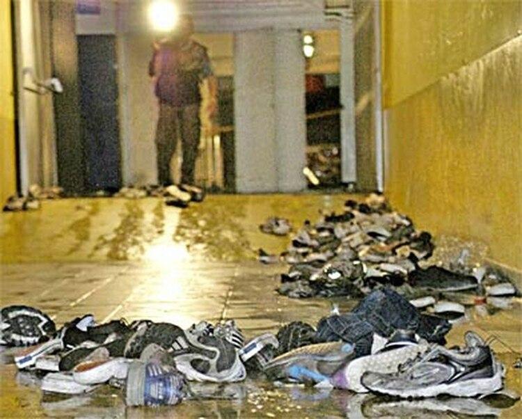 El trágico incendio en Cromañón (AFP)