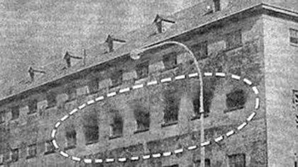 El fuego en el pabellón Séptimo de la cárcel de Devoto