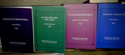"""Colección """"Biblioteca eslovena"""", de la editorial A pasitos del fin de este mundo"""
