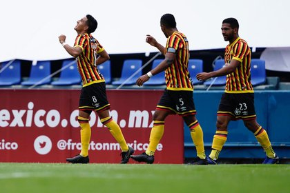 Ahora ya no hay ascenso a Primera División y los jóvenes futbolistas son los que tienen el protagonismo (Foto: Twitter/ @LeonesNegrosCF)