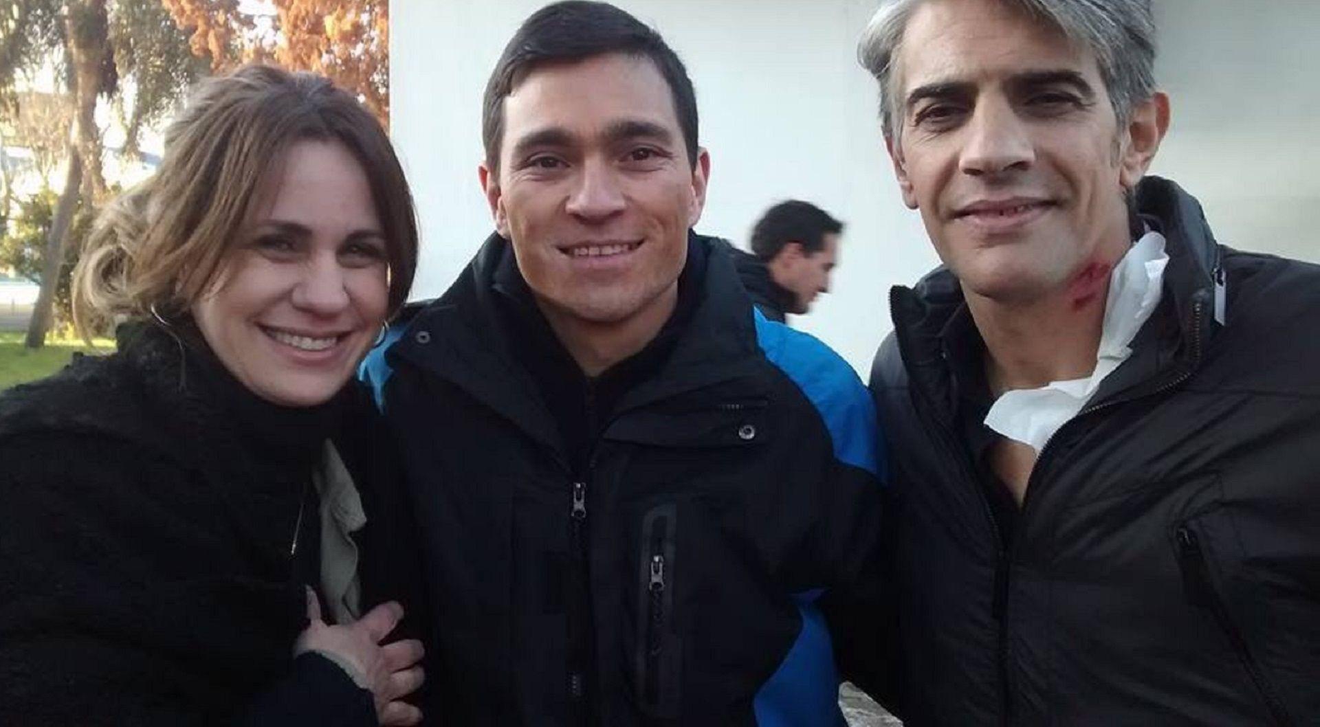 "Fabián Benítez trabajó junto a Nancy Dupláa y Pablo Echarri en ""La Leona"""