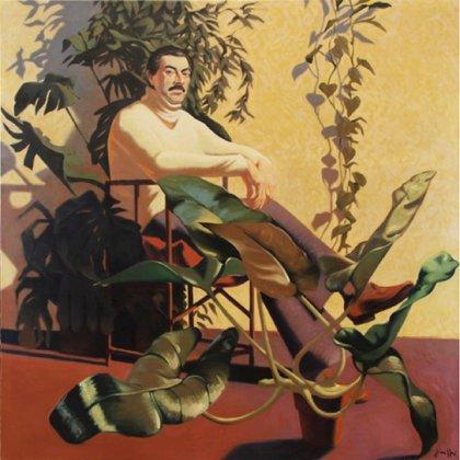 """""""El mecenas (Retrato de Marcos Curi)"""" (1977, obra perdida)"""