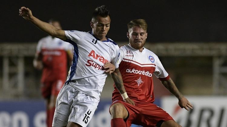 Argentinos venció a Estudiantes de Mérida en su debut por la Sudamericana (AFP)