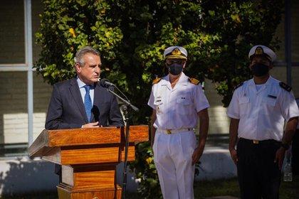 El ministro de Defensa Agustín Rossi, es uno de los funcionarios del gobierno de Alberto Fernández que sigue de cerca las alternativas del Consejo General de Guerra (Prensa)