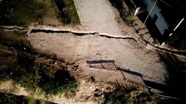Unas 40 casas fueron evacuadas