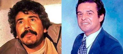 Caro Quintero y el exagente de la DEA, Enrique Camarena (i), quien fue asesinado en 1985, crimen del que se le acusa al capo de la droga  (Foto: Archivo)
