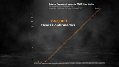 La Secretaría de Salud dio a conocer el nímero de contagios y muertes por coronavirus en México (Foto: Steve Allen)