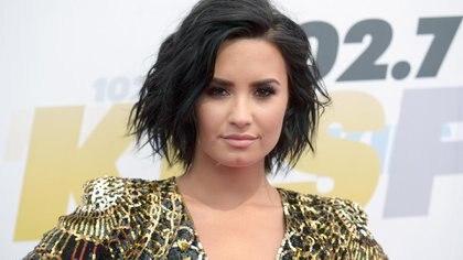 Demi Lovato volvió a recaer en su adicción al alcohol  (AP)