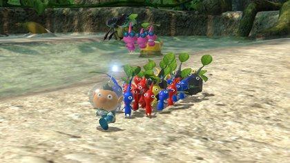 Pikmin 3 Deluxe llegó a Nintendo Switch con todo el contenido original de la versión de Wii U y sus extras descargables. (Foto: Nintendo)