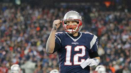 Los Patriots son favoritos a quedarse con el partido y Tom Brady con el MVP de la final (Getty Images)