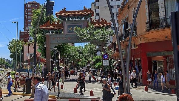 El arco del Barrio Chino, la entrada a la cultura oriental