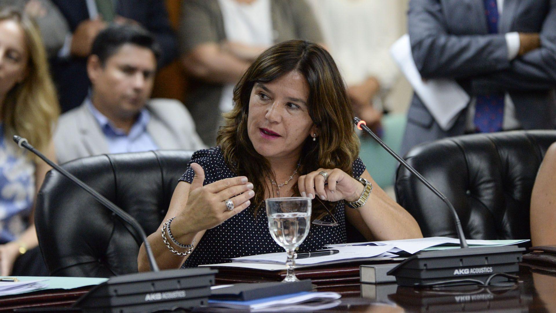 La senadora nacional Inés Brizuela y Doria (Julieta Ferrario)