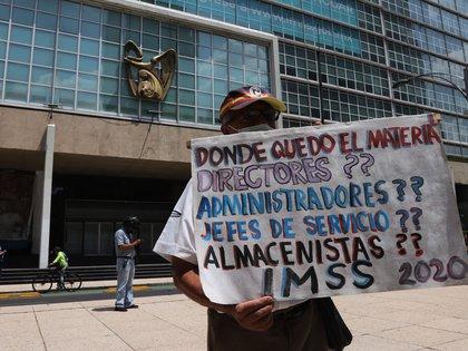 """en México la profesión es hoy un riesgo """"es difícil y lamentablemente es una profesión que hasta el día de hoy no se valora"""", lamentó. (Foto: EFE/José Pazos)"""