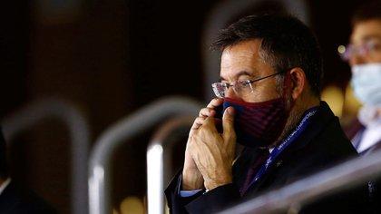 El presidente del FC Barcelona, Josep Maria Bartomeu le contestó a Piqué - (EFE)