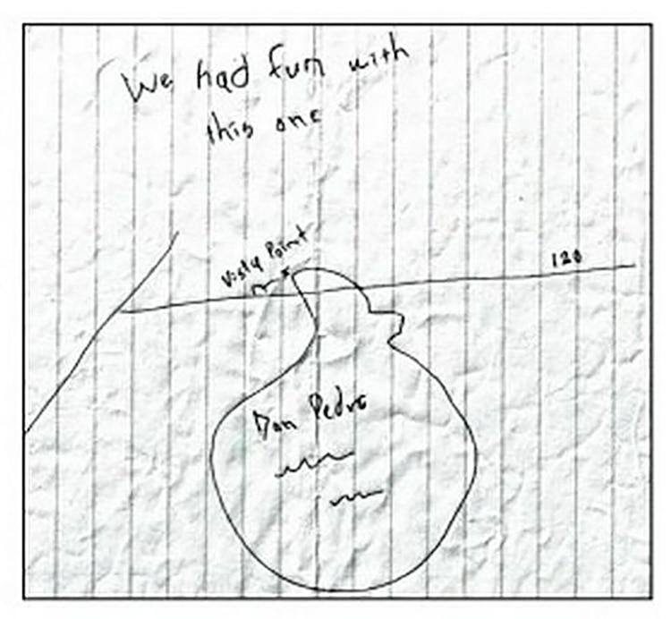 La estremecedora nota que envió a los investigadores sobre el paradero de la joven