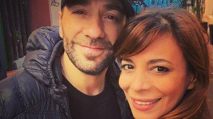 Gustavo Conti y Ximena Capristo