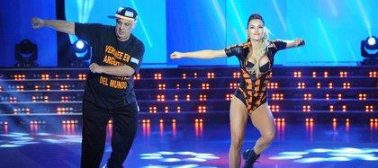 """Alberto Samid y Sofía Macaggi en el """"Bailando 2015"""""""