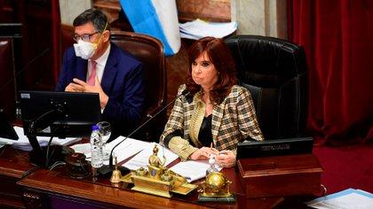 Cristina Kirchner presidirá la sesión (Maximiliano Luna)