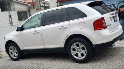 Fue encontrada la camioneta ligada al caso Miranda Cardoso (Foto: Especial)