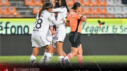 El golazo de Joana Robles que le dió la ventaja a Atlas sobre Pachuca en cuartos de final de liga femenil