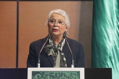 Olga Sánchez Cordero aseguró que es una mujer de ideales a la que no le interesa el reconocimiento (Foto: Cámara de Diputados)