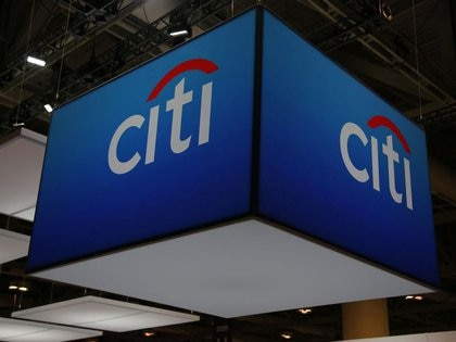 Imagen de archivo del logo de Citigroup Inc (Citi) en la conferencia de finanzas y banca SIBOS en Toronto, Ontario, Canadá. 19 de octubre, 2017. REUTERS/Chris Helgren/Archivo