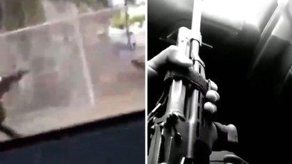 Grupo Flechas MZ del Cartel de Sinaloa (Foto: Captura de pantalla/Twitter@cartelstuff701)