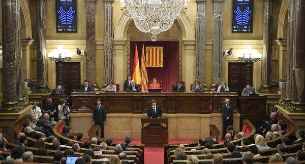 El Parlamento de Cataluña programó una sesión clave para el jueves: España teme que declare la independencia