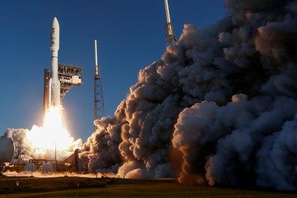 El 30 de julio de 2020 despegó el cohete Atlas V desde Cabo Cañaveral, Florida con el rover Perseverance dentro -  REUTERS/Joe Skipper