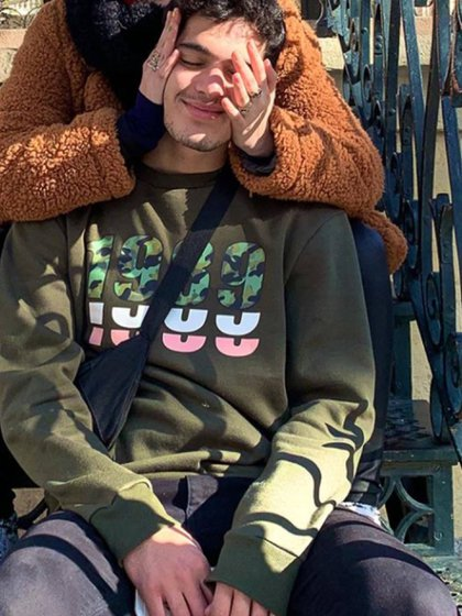Gastón es un gran sostén de la joven actriz (Instagram)