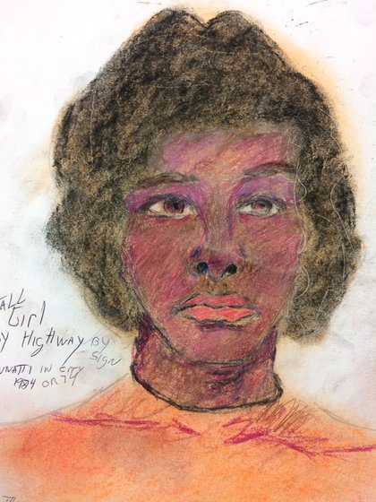 Mujer afroamericana asesinada en 1974 (FBI)