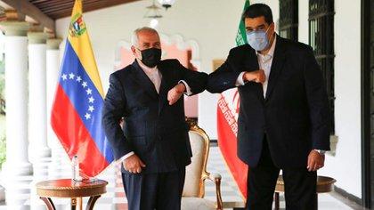 Nicolás Maduro recibió a Mohamad Javad Zarif (@NicolasMaduro)
